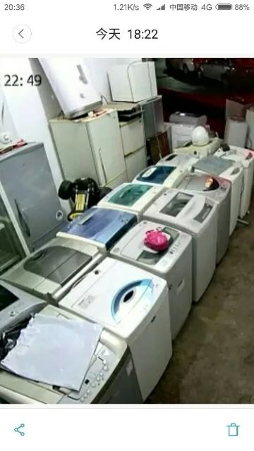 【宏盛达二手电器机电】出售二手品牌洗衣机、质量好,价格实惠,售后有保障。