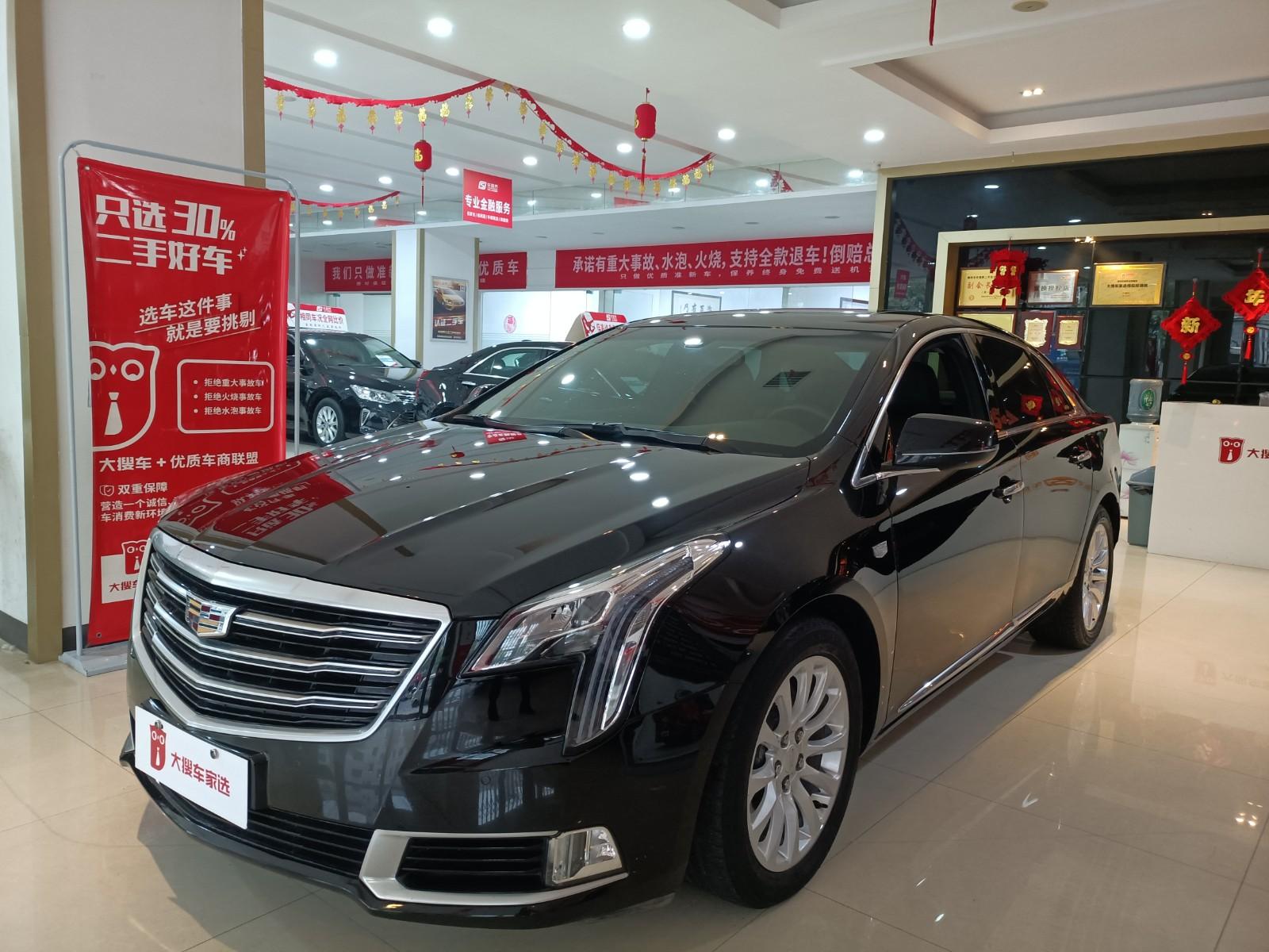 【京湘车视界二手车】2018款 凯迪拉克XTS 28T 精英型
