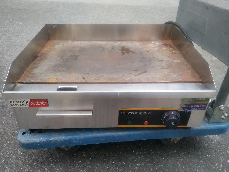 【宏盛达二手电器机电】出售艾士奇加厚电热扒炉,