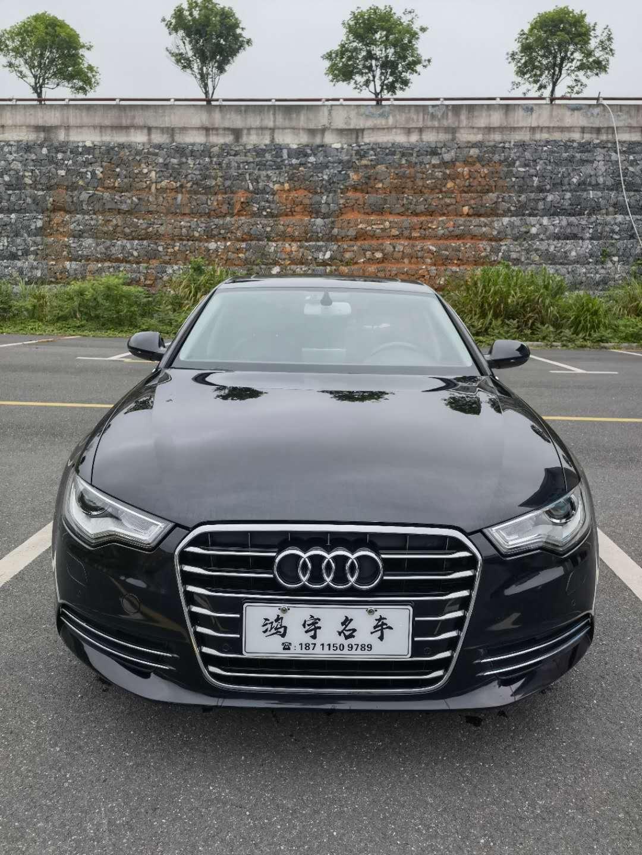 【鸿宇车行】出售嗯13年奥迪a6,2.5v6